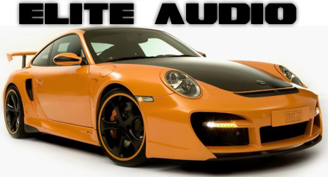Elite Audio Porsche Banner